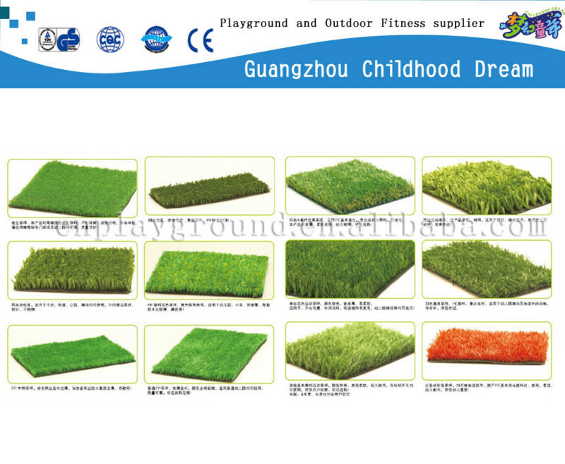 (HD-208)2014Newest quality artificial grass rubber mat for sports and landscape
