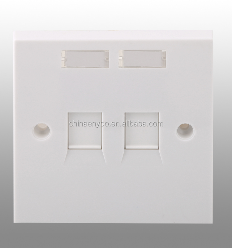 86X86 uk face plate with shutter