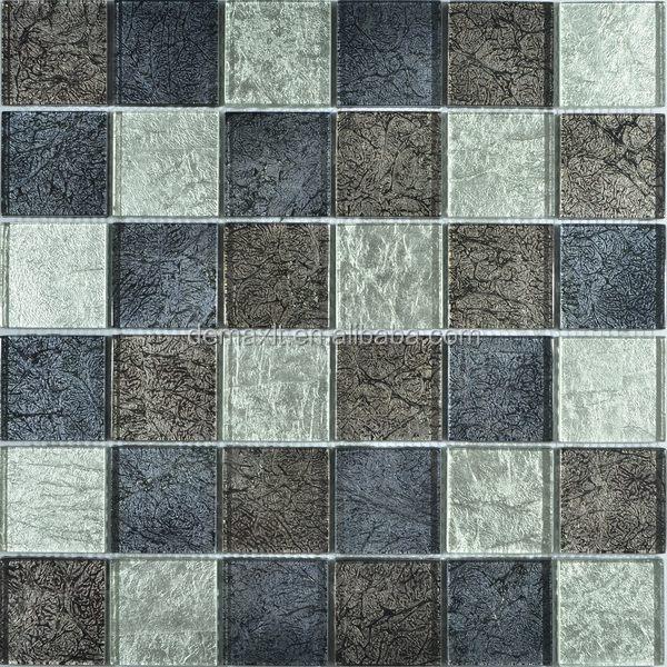 envo gratis unids bloque de mrmol de mosaico de vidrio para pared decoracin bloque de