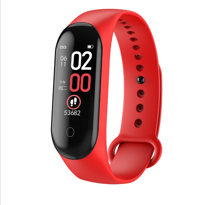 M4 fit bit watch smart bracelet heart rate monitor фото