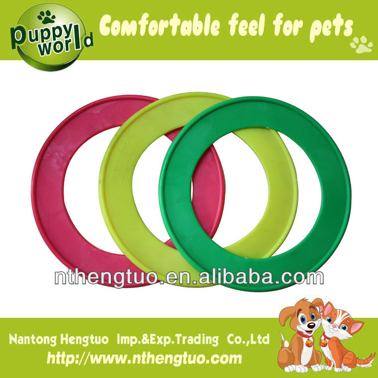 Discount wholesale frisbee for dog/ultimate frisbee for pet HTHY011