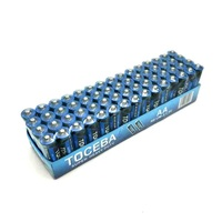 R03C AAA PVC Jacket 1.5V Dry Cell Battery Paper Tray Packing