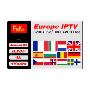 3200 Live Channels IPTV Portugal FakaFHD Subscription Code 12 Months