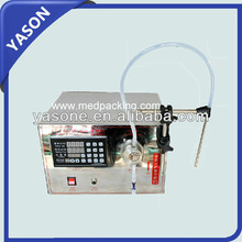 Single Head magnetic pump numerical control gear pump liquid filling machine for perfume ,oil, juice,water,milk