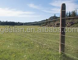 metal farm fence. Metal Post Wire Mesh Electric Field Horse Fence/ Farm High  Tensile Pasture Metal Farm Fence T