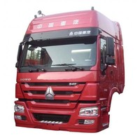 Sinotruk truck HOWO A7 high top cabin