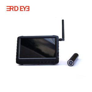 "wireless outdoor camera dvr kit 5"" 2.4GHz hdr monitor snake camera for pipe check,AV In/out"