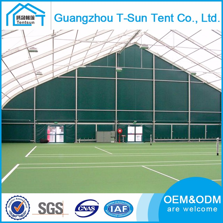 20x50m fabrical hall for tennis hall outdoor sports