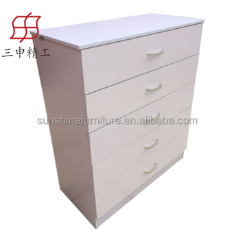 Direct Factory Price Wood Furniture File Cabinet 5 Drawer