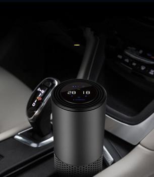 98cc7139f44 China Factory Digital display Intelligent Car Air Purifier Fresh Car Air  Ionizer Oxygen Bar with Gesture