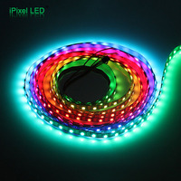 Programmable 60 LEDs/m ws2811 led digital strip ws2812b