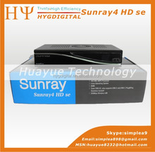 Sunray4 HD se SR4 800HD se 3 in 1 tuner -T -C -S(2S) Triple tuner wifi with Security A8P Card Satellite Receiver