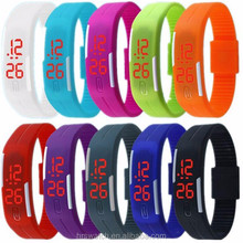 2017 China supplier gifts Wholesale Cheap Silicone LED watches