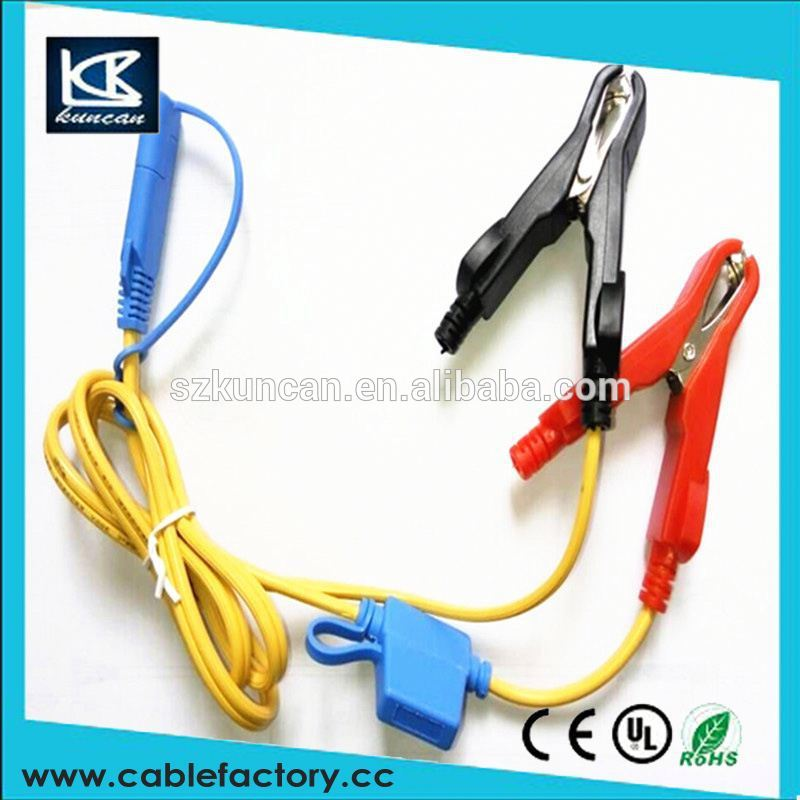 New Power Cable for Trimble R8 R7 4700 GPS wire to Alligator clips
