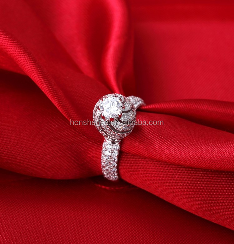 New Design Ladies Finger Ring Unique Pukhraj Ring Designs Hollow ...