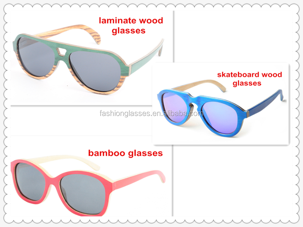 several colors for choice pc bamboo polarized sunglasses with CE FDA