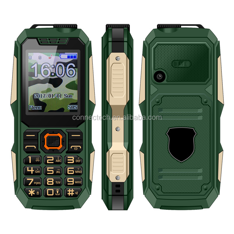 2018 New Floating On Water 1.8 Inch Dual <strong>SIM</strong> IP67 Waterproof China Rugged Feature Phone