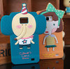 Stock Clearance Sale 3D Silicone Cartoon Protective Phone Case for Samsung Galaxy S2 i9100