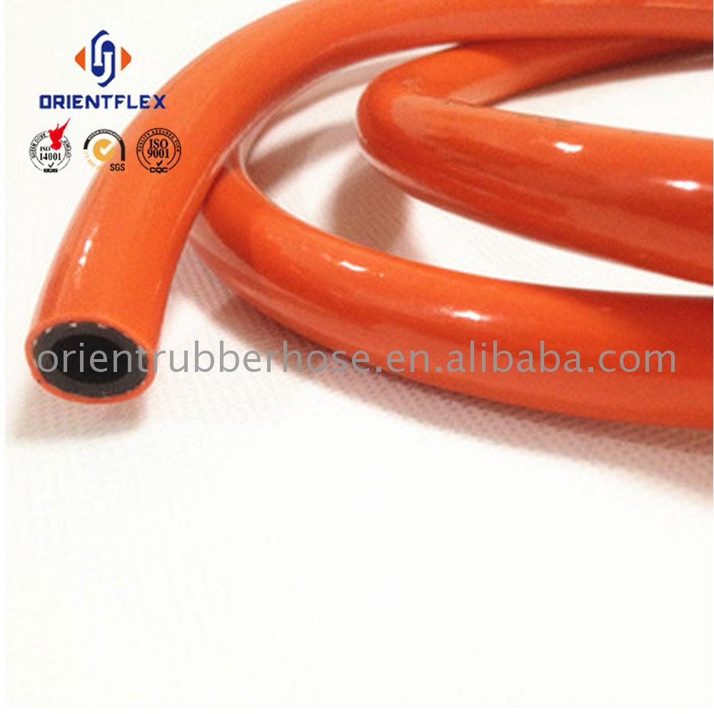 Cheap long small bending radius for LPG PVC high-pressure pvc air hose transporting gas manufacturer supplier