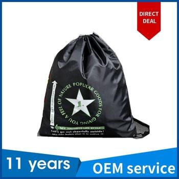 Polyester Drawstring Bag Cheap Custom Drawstring Bags No Minimum ...