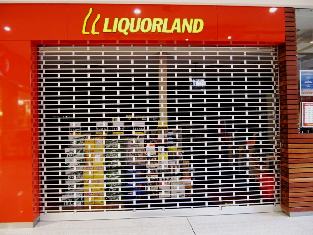product-24th Advertising Modern Design Security Stainless Steel Grilles Roller Shutter Door for Comm