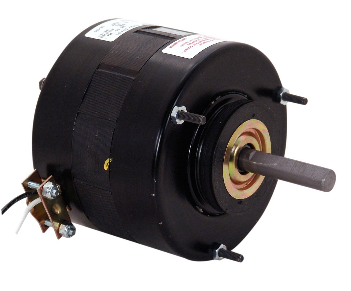 A.O. Smith U6431 1/8 HP, Shaded Pole, TEAO Enclosure, 4.5 Amps, 1/2-Inch by 2-3/4-Inch, CWSE Rotation, Sleeve Bearing Unit Heater Motor