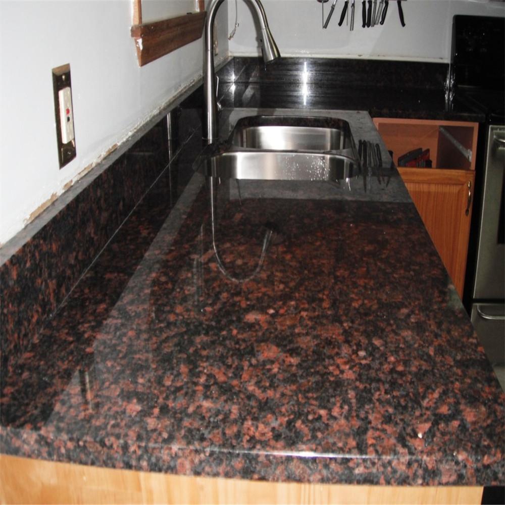 China Tan Brown Granite Countertops China Tan Brown Granite