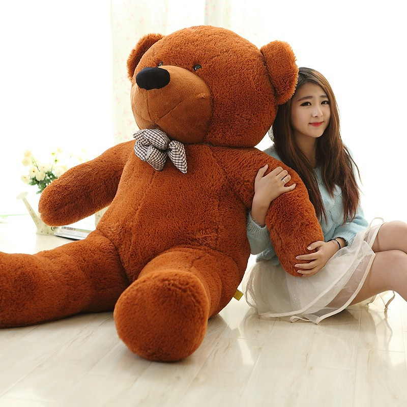 retail giant teddy bear 180cm family unstuffed plush teddy coat lowest price of the whole. Black Bedroom Furniture Sets. Home Design Ideas