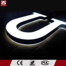 Factory Direct Sale acrylic led luminated sign 3D plastic advertising signage