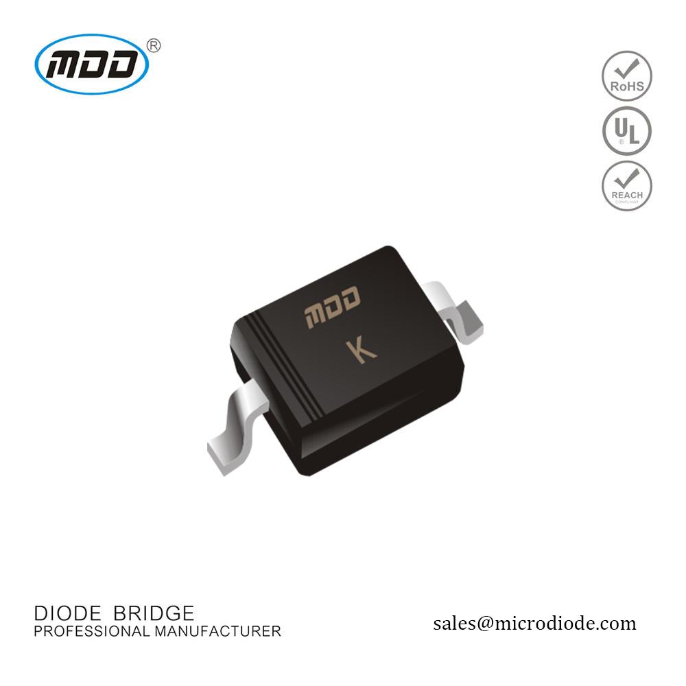 BI-DIR X34 ESD PROTECTION DIODE DF6D6M4N,LF Pack of 100