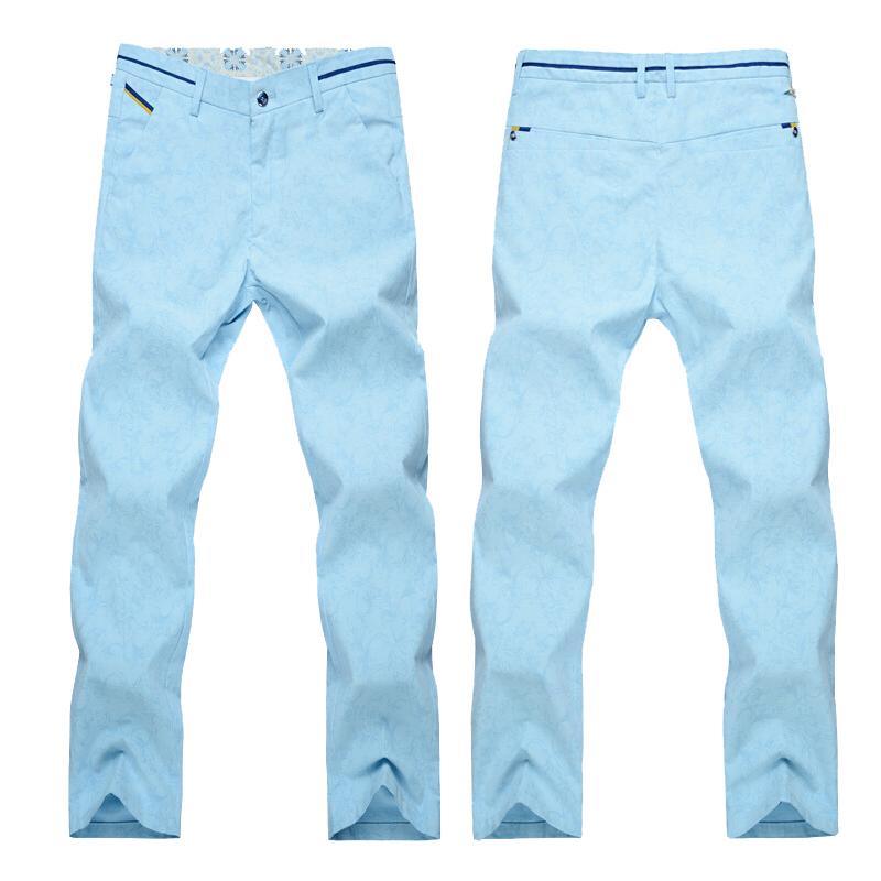 KLJR Men Casual Jogger Pants Pockets Contrast Slim Fit Sweatpants Pants Trousers
