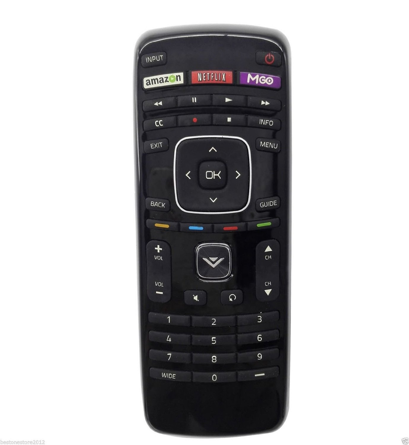 VIZIO XRT112 LED SMART INTERNET APPS TV REMOTE CONTROL FOR VIZIO 32