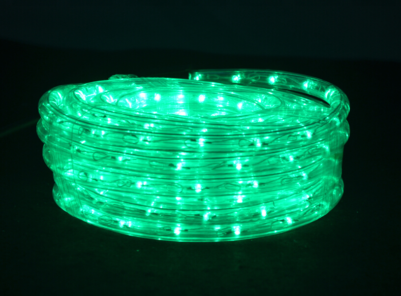 The material of the best selling color changing led rope light rainbow light