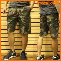 Cargo Shorts Stock Lot Garment Stock For Mens Clothing