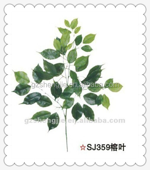 artificial tree branch artificial ficus tree leaves
