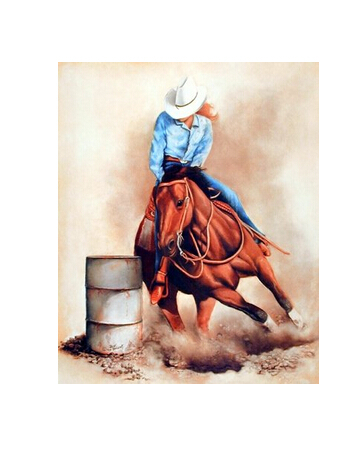 Western Cowgirl Custom Wall Paper HD Pictures and Printings Hot posters Wall Sticker office home decor U1-614