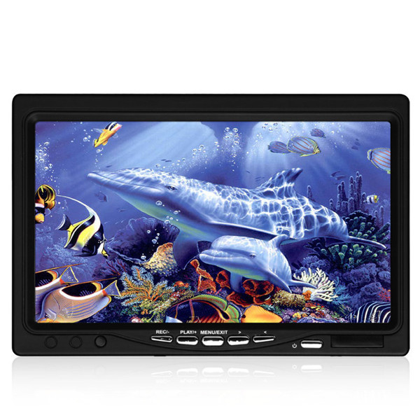 TP7100 15m Fish Finder Underwater Ice Fishing HD Camera 7'' Monitor with DVR