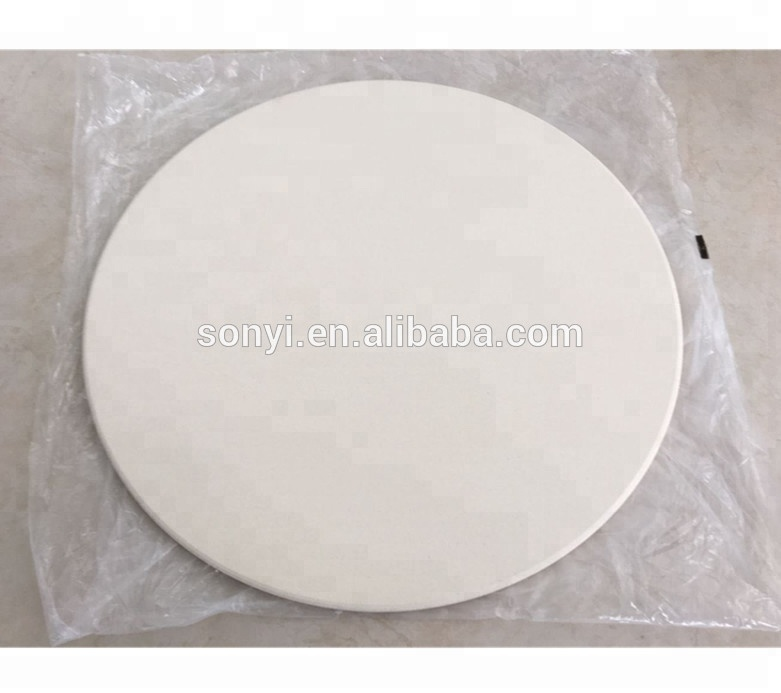Italian heat resistance ceramic cordieriate electric oven pizza stone