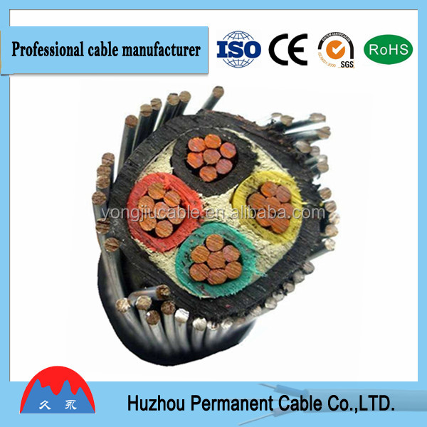 600V UL Standard Copper Conductor PVC Insulated THW Cable
