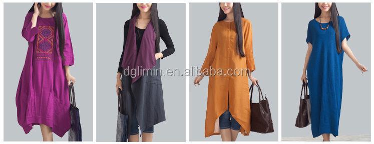Long Casual Dress Ladies Top