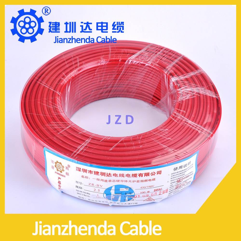Pvc Household Wire 6mm2 Suppliers And Flameretardant Flexible Copper Electrical Bv Bvvb Bvr Manufacturers At
