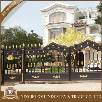 Amazing Main Gate Colors, Simple Gate Design, Door Aluminum Gate Design/beautiful  Design Of