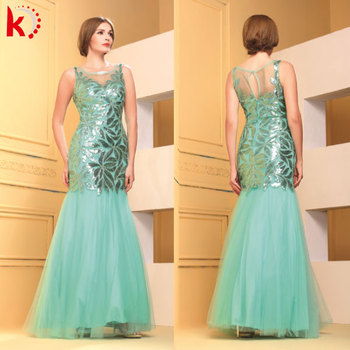 Mature Women Formal Dress Evening Dress Guangzhou Chinese Wedding
