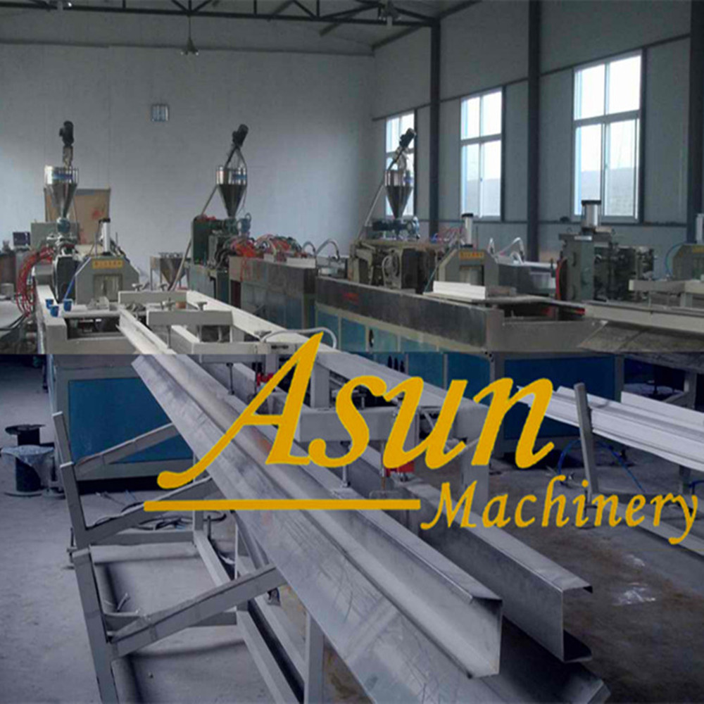 PVC Cable Trunk profile Production Line