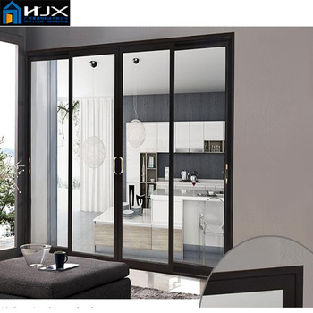 Tempered Glass Sliding Balcony Doorinterior Internal Three Panel
