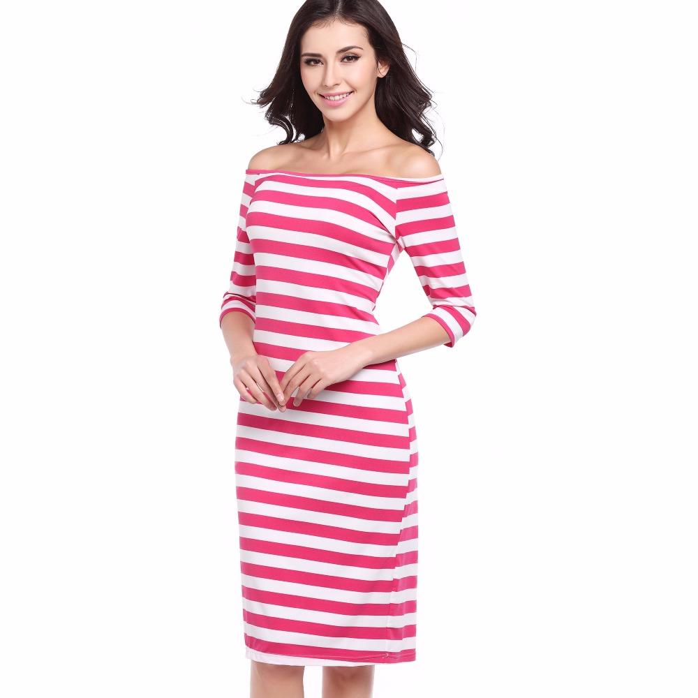 Venta al por mayor vestidos a medio hombro-Compre online los mejores ...