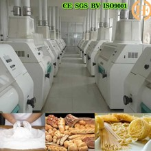 Automatic wheat mill machinery,wheat flour mill