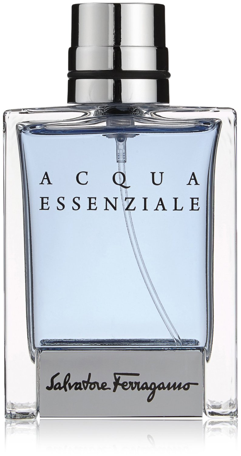 Salvatore Ferragamo Acqua Essenziale Eau de Toilette Spray for Men, 1.7 Ounce