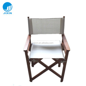 Outdoor Garden Antique Folding Wooden Director Chairs