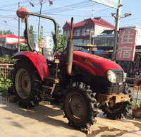 Second hand Tractor Dongfanghong DF 55hp 90hp 4 wheeled in low price